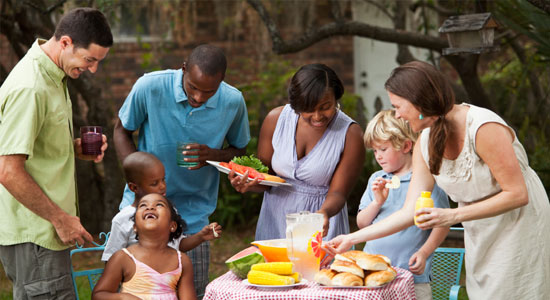 family-cookout